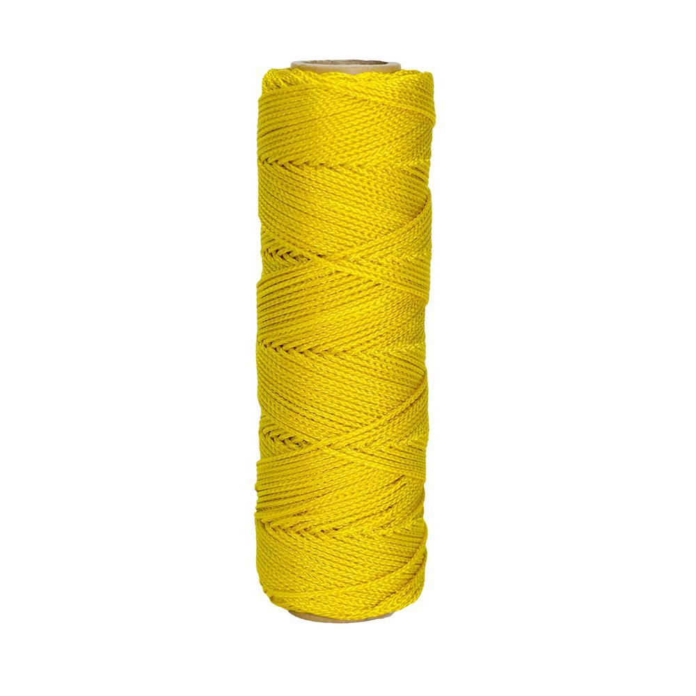 Yellow Nylon Braided Masonry Line 500 ft.