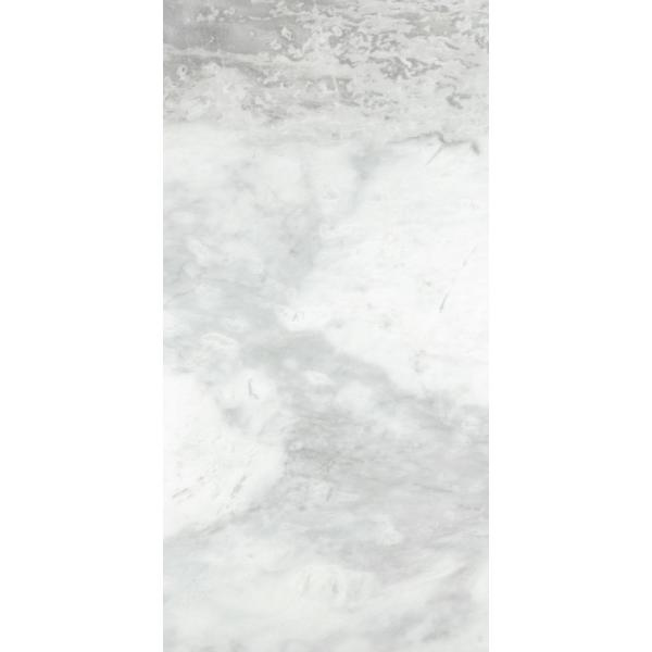 Parian White Polished 12.01 in. x 24.02 in. Marble Floor and Wall Tile (2.0 sq. ft.)