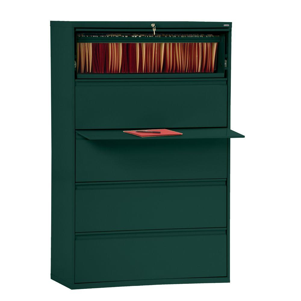 Forest Green File Cabinet