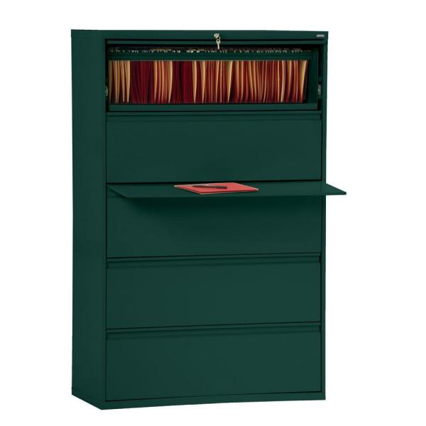 800 Series Forest Green File Cabinet