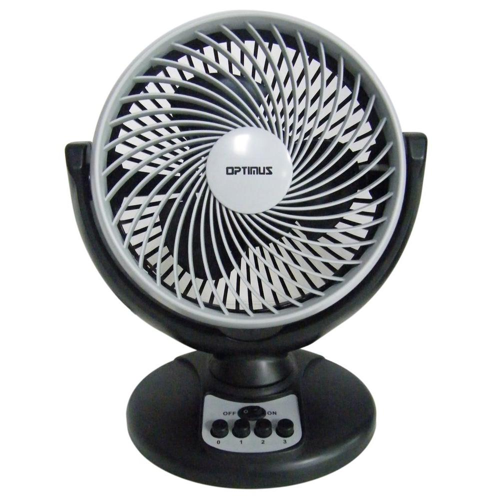 8 in. Oscillating Pedestal Fan with Turbo High Performance Air Circulator