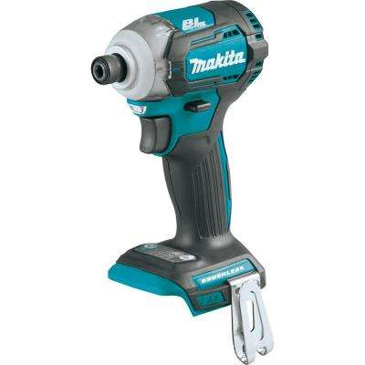 18-Volt LXT Lithium-Ion Brushless Cordless 1/4 in. Quick-Shift Mode 4-Speed Impact Driver (Tool Only)
