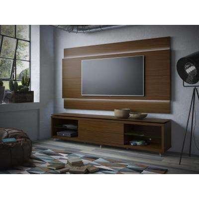 Lincoln Nut Brown Storage Entertainment Center