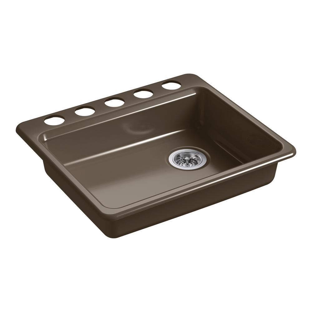 Kohler Riverby Single Bowl Undermount Kitchen Sink