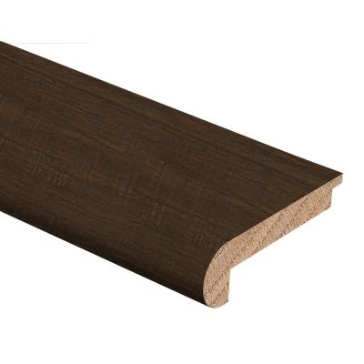 Strand Woven Bamboo Ceruse 3/8 in. Thick x 2-3/4 in. Wide x 94 in. Length Hardwood Stair Nose Molding Flush