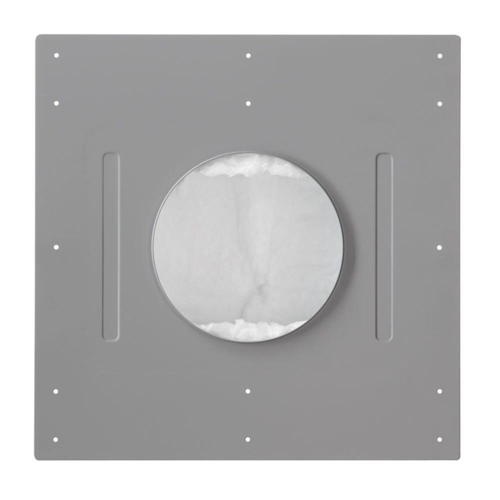 Leviton Fire-Rated Back Box for AEC65 Ceiling Speaker, Gray