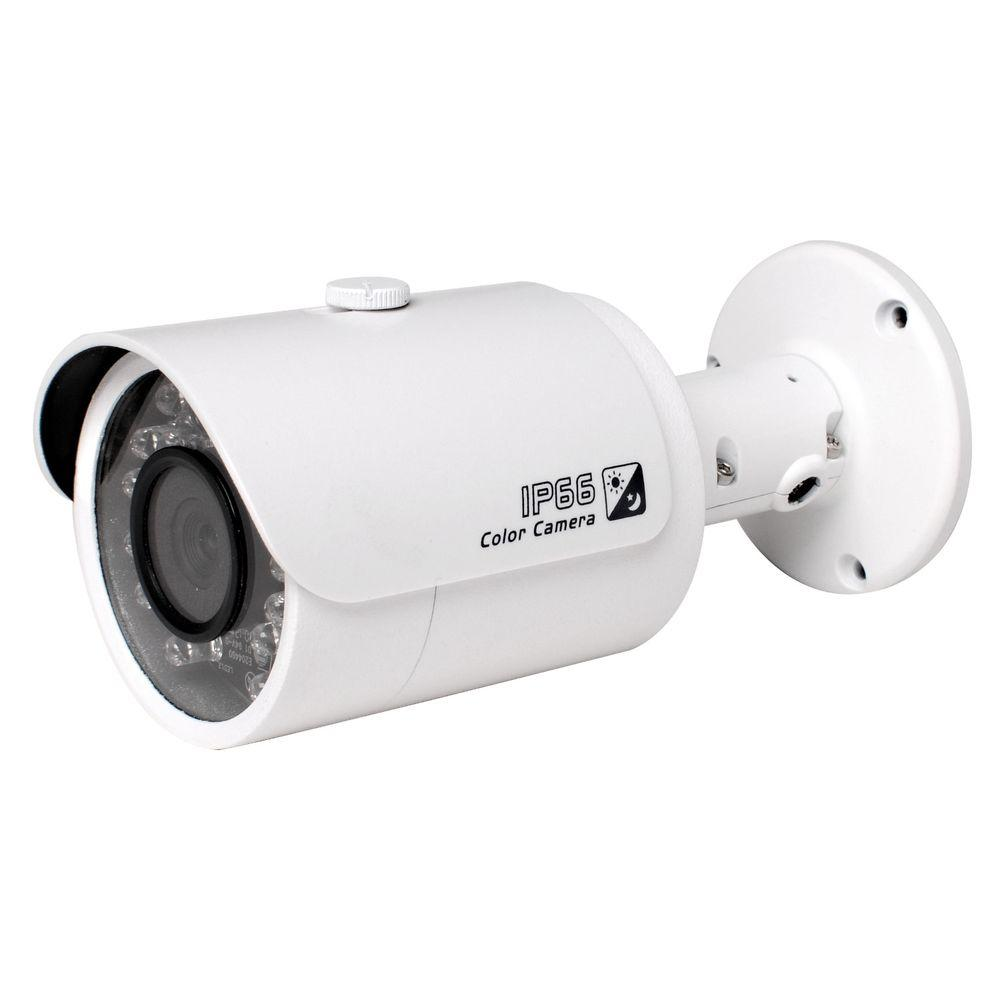 SeqCam Wired 3 Megapixel Full HD Network Small IR-Bullet Indoor or Outdoor Standard Surveillance Camera