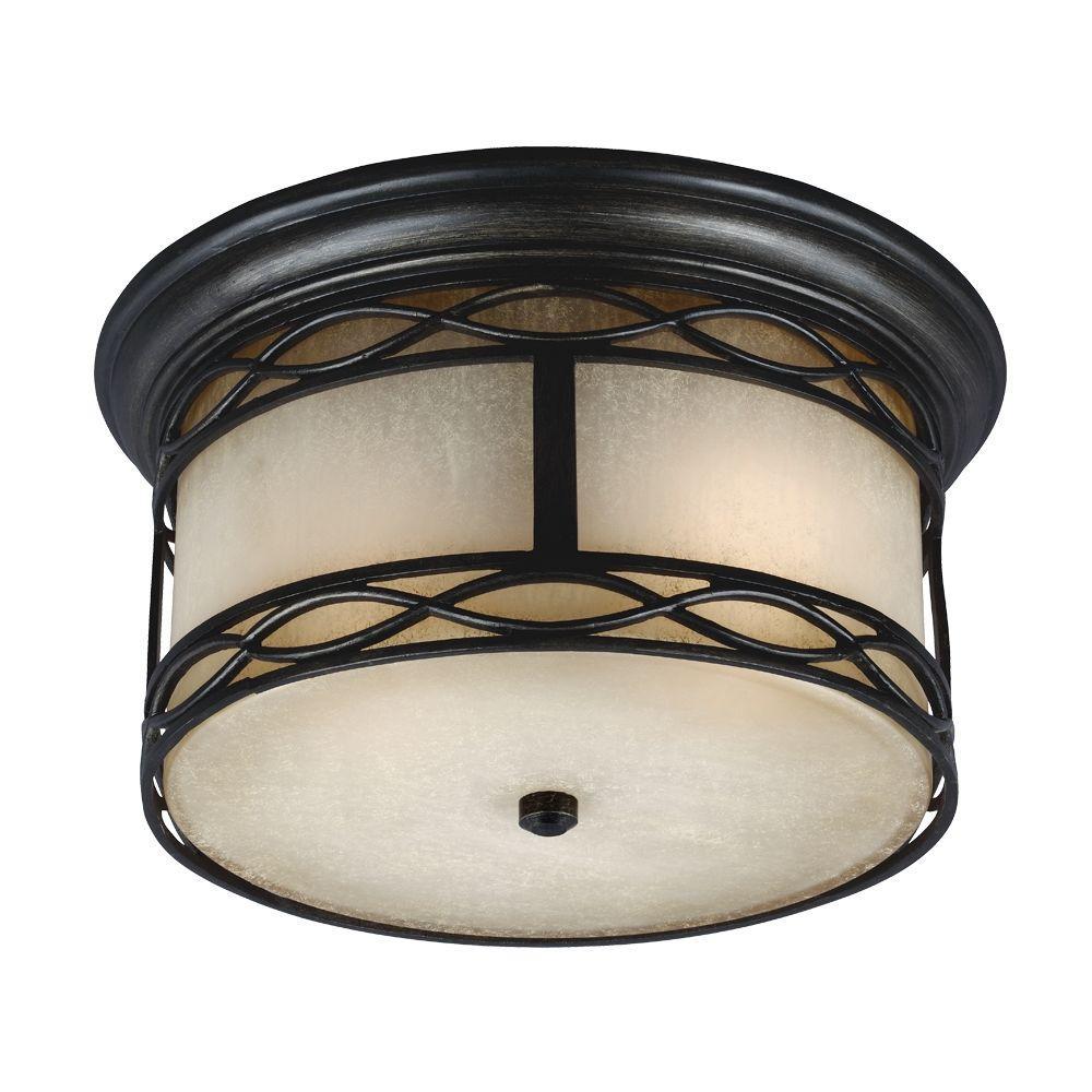 Light Fixture Base: Hampton Bay 3-Light Antique Bronze Round-Base Pinhole