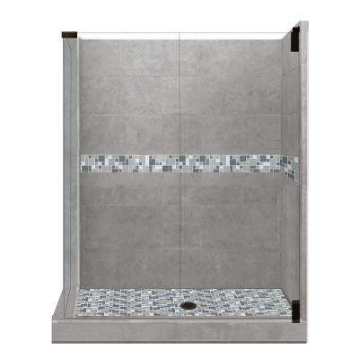 36 x 36 corner shower kit. newport grand hinged 36 in. x corner shower kit r