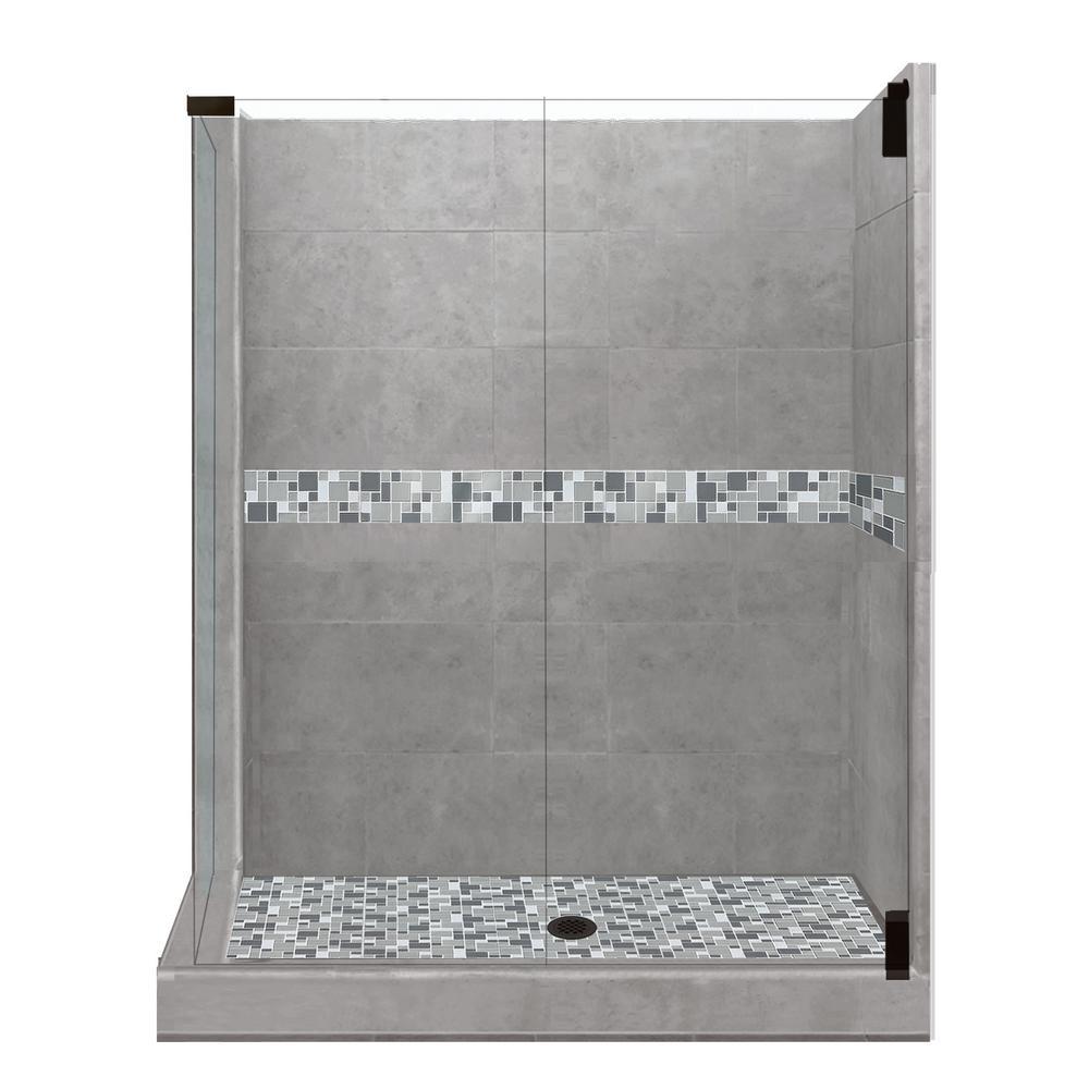 36 x 36 corner shower kit. newport grand hinged 36 in. x corner shower kit r