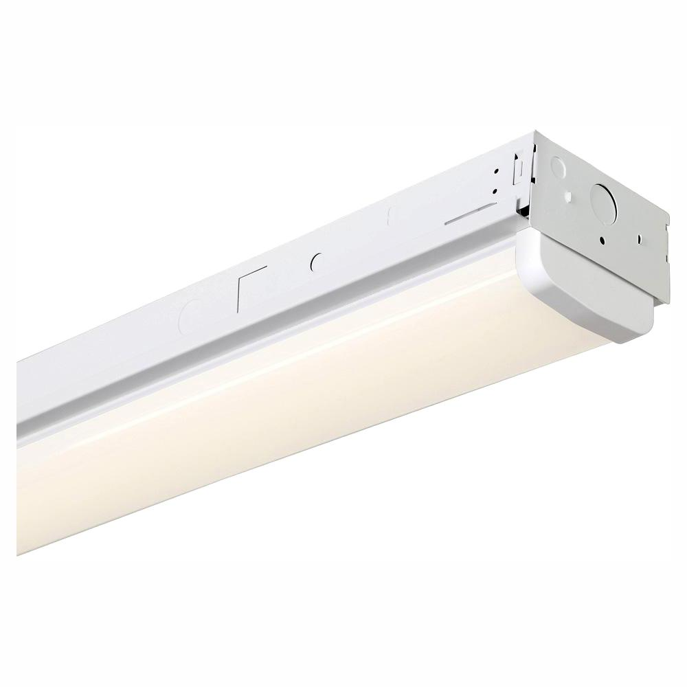 Envirolite 8 Ft 1000 Watt Equivalent White Integrated Led Mv 14 000 Lumen Linear Strip Light