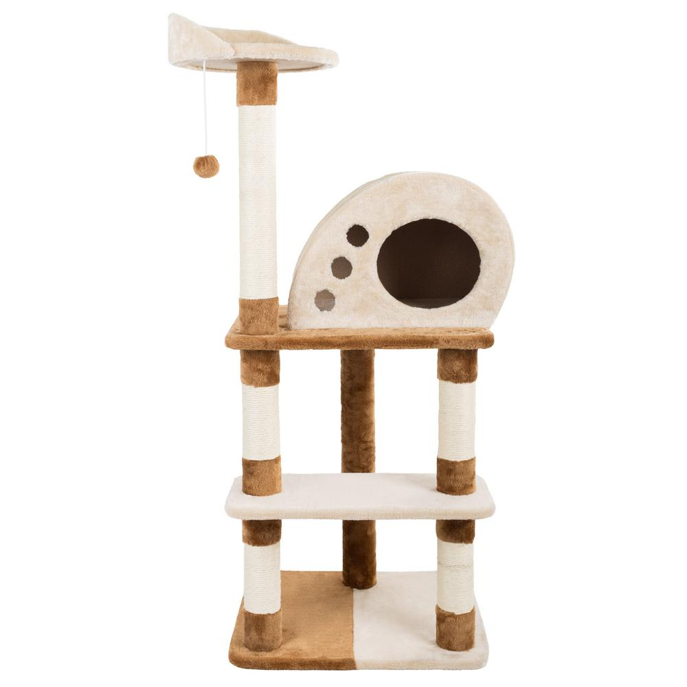 4-Tier Cat Tree and Condo Petmaker 47.5 in. Condo-HW3210066 - The Home Depot