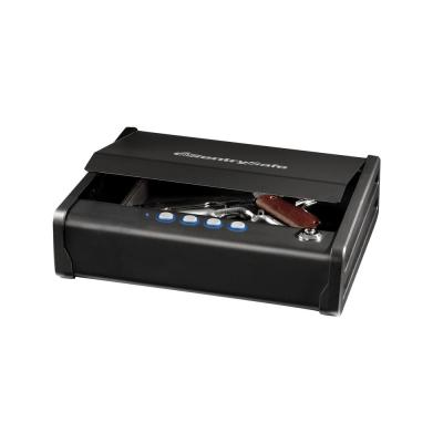 Single Gun Capacity Pistol Safe, Quick Access Gun Safe, Digital Lock