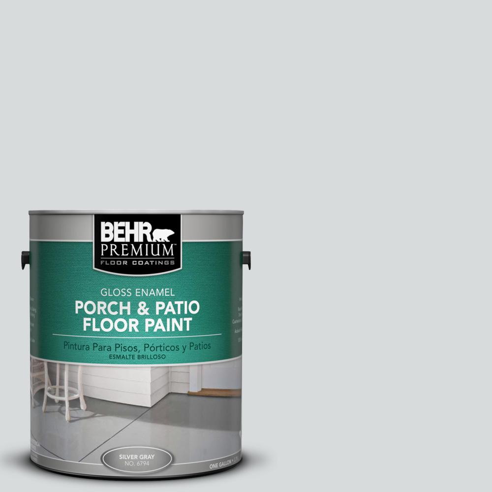 BEHR Premium 1 Gal. #PPU26 14 Drizzle Gloss Porch And Patio Floor Paint