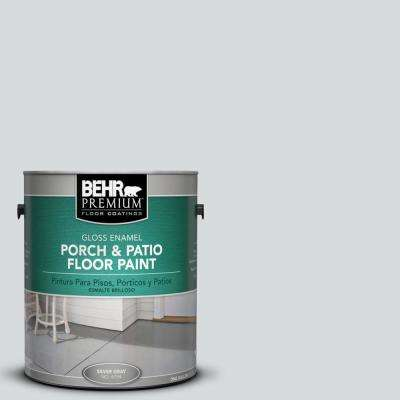 1 gal. #PPU26-14 Drizzle Gloss Porch and Patio Floor Paint