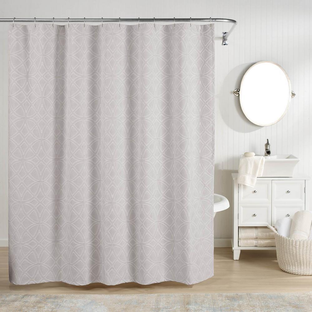 Bogart Shower Curtain Grey