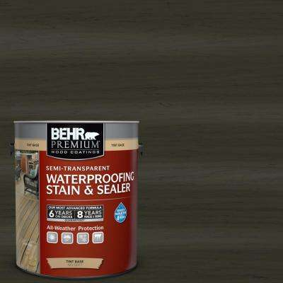 1 gal. #ST-108 Forest Semi-Transparent Waterproofing Exterior Wood Stain and Sealer