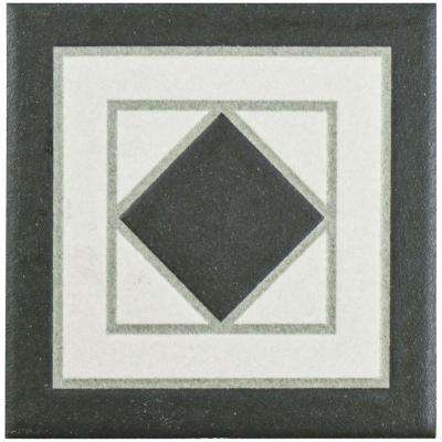 Vanity Blanco 4-1/4 in. x 4-1/4 in. Porcelain Corner Floor and Wall Trim Tile