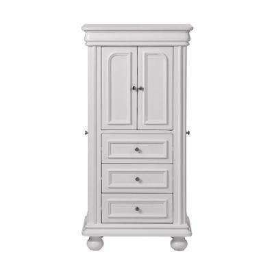 Genevieve White Jewelry Armoire