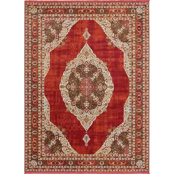 Baracoa Regla Red 10' 0 x 13' 0 Area Rug