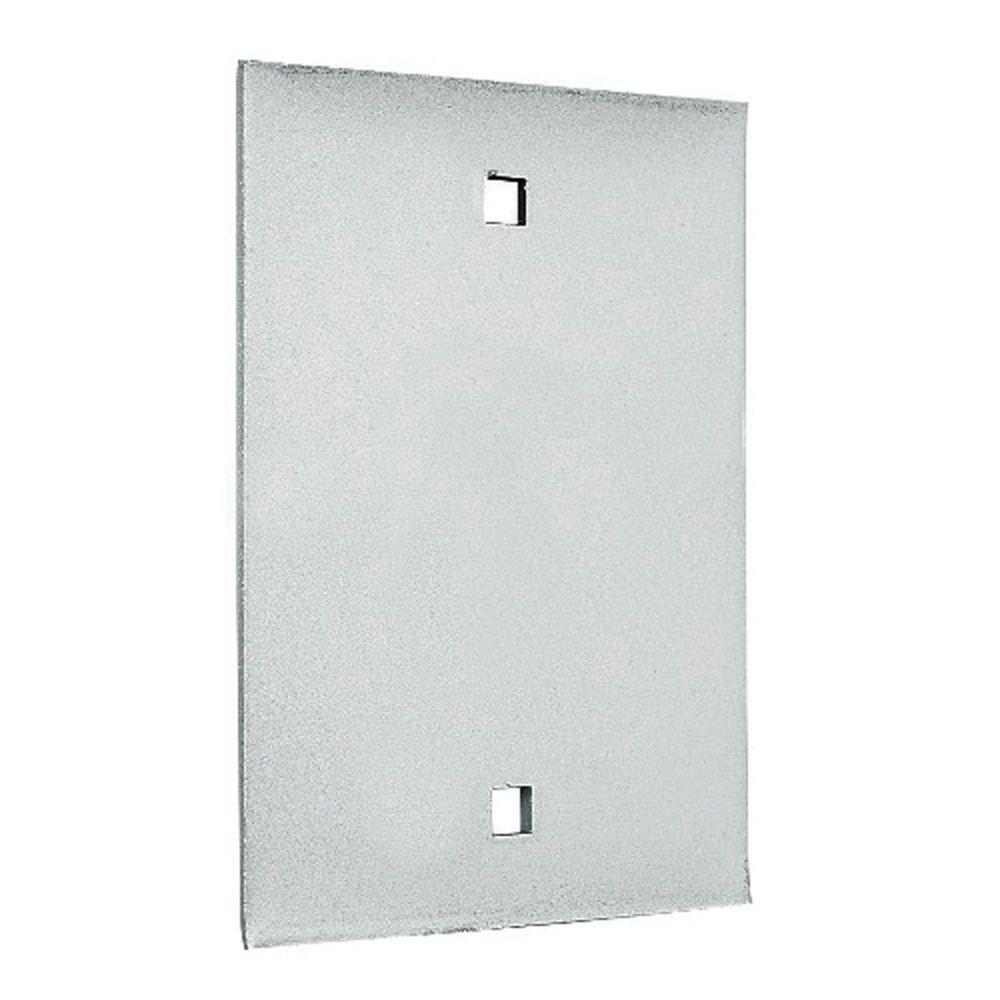 Aluminum Dummy Exit Only Plate Exit Device Trim