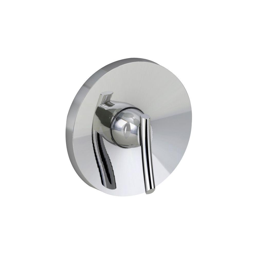 Green Tea 1-Handle Valve Trim Kit in Chrome (Valve Sold Separately)