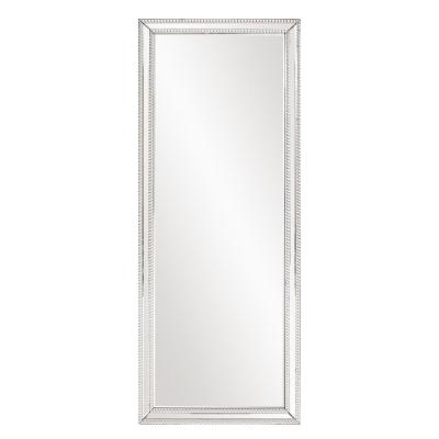 Medium Rectangle Mirrored Beveled Glass Contemporary Mirror (23 in. H x 63 in. W)
