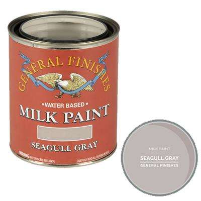 1-qt. Seagull Gray Interior/Exterior Milk Paint
