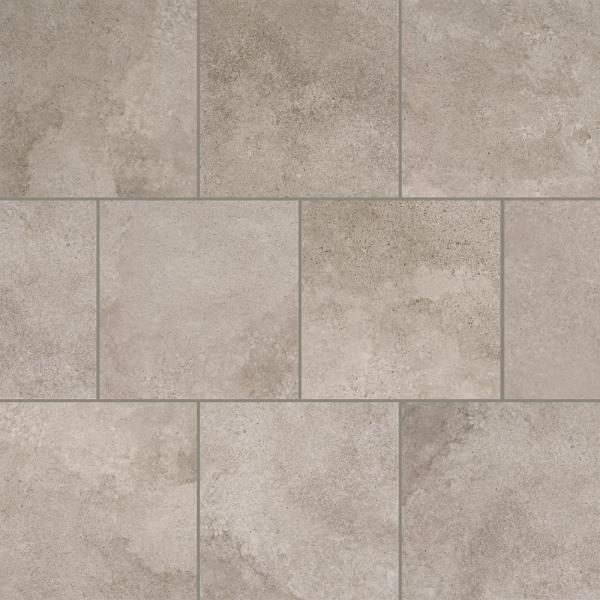 Hastings Gray 12 in. x 12 in. Porcelain Floor and Wall Tile (555.56 sq. ft. / pallet)