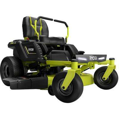 42 in. 75 Ah Battery Electric Riding Zero Turn Mower