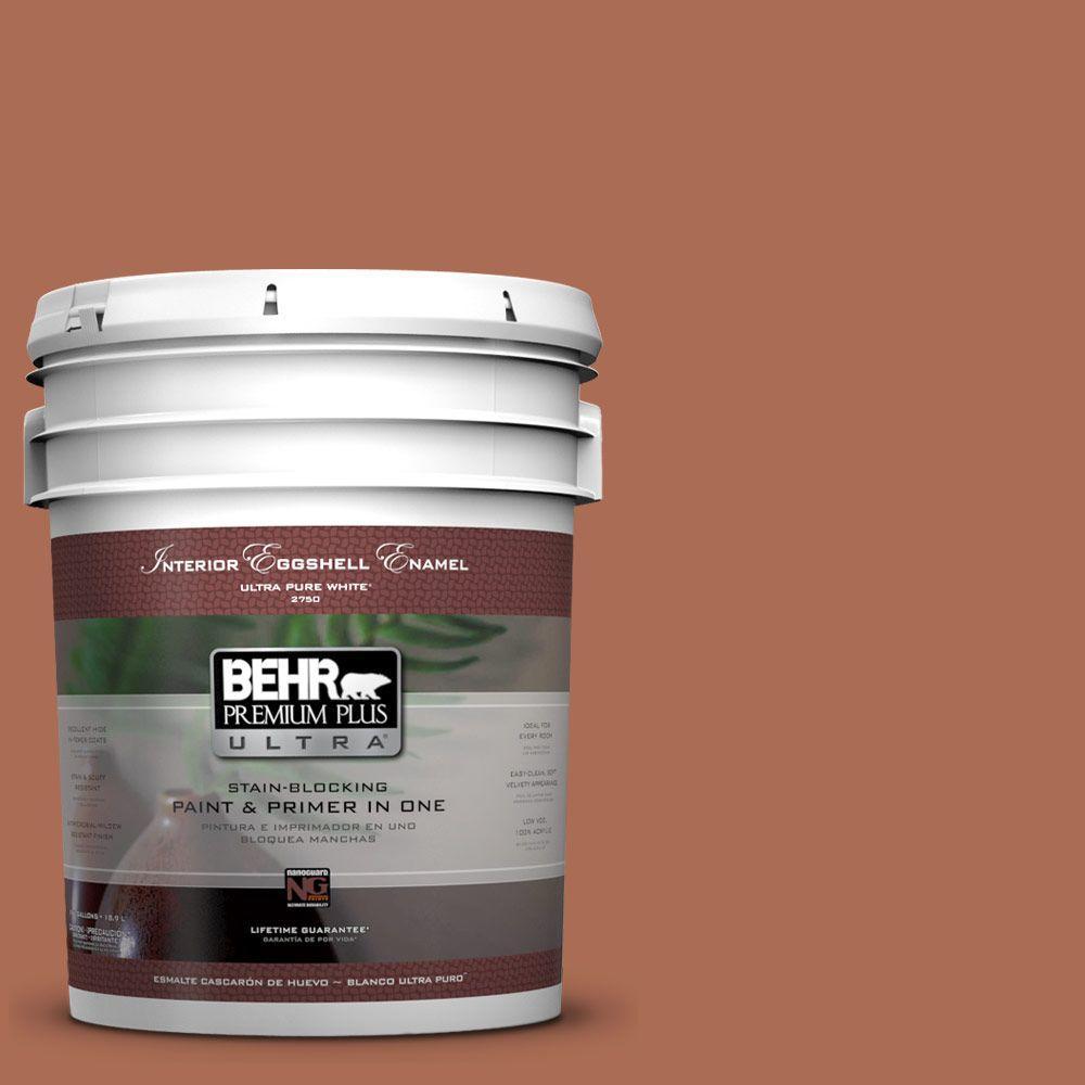 BEHR Premium Plus Ultra 5-gal. #BIC-45 Airbrushed Copper Eggshell Enamel Interior Paint