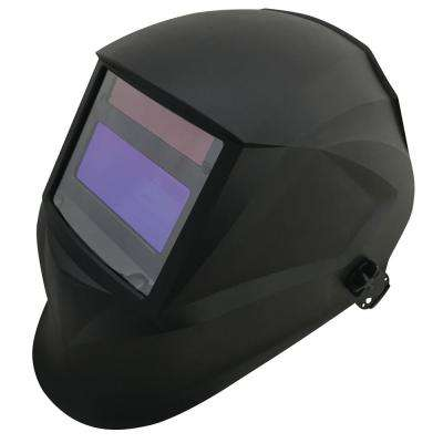 "6.5"" VIEW AUTO-DARKENING WELDING HELMET, BLACK"