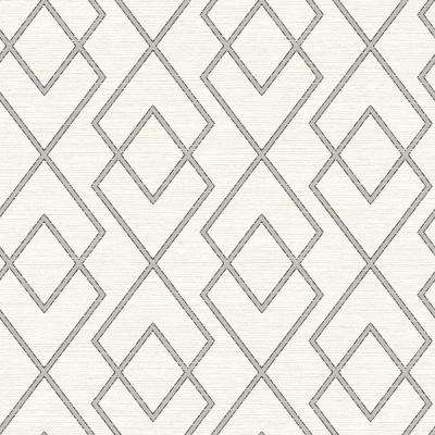 Blaze Cream Trellis Cream Wallpaper Sample