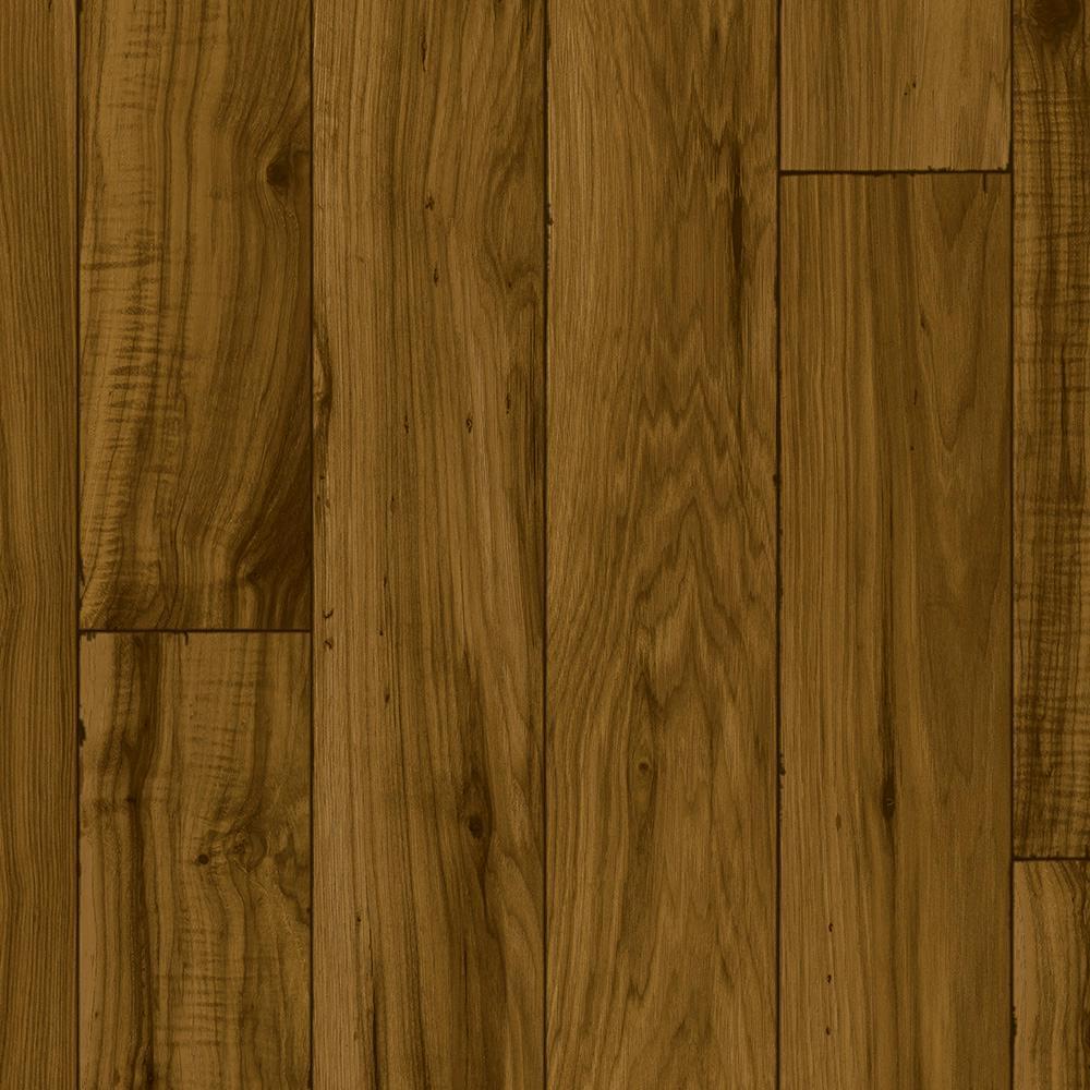 Take Home Sample - Rustic Mocha Residential Vinyl Sheet Flooring - 6 in. x 9 in.