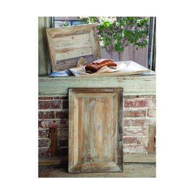 14 in. x 17 in. Reclaimed Pine Hastings Trays (Set of 3)
