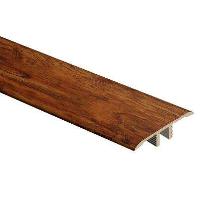 Rustic Hickory 1/3 in. Thick x 1-3/4 in. Wide x 72 in. Length Vinyl T-Molding