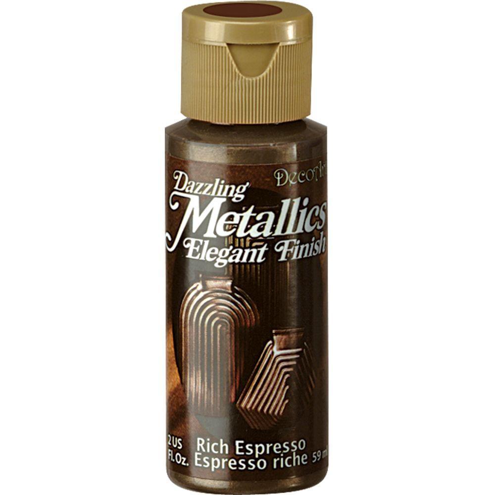 Dazzling Metallics 2 oz. Rich Espresso Acrylic Paint