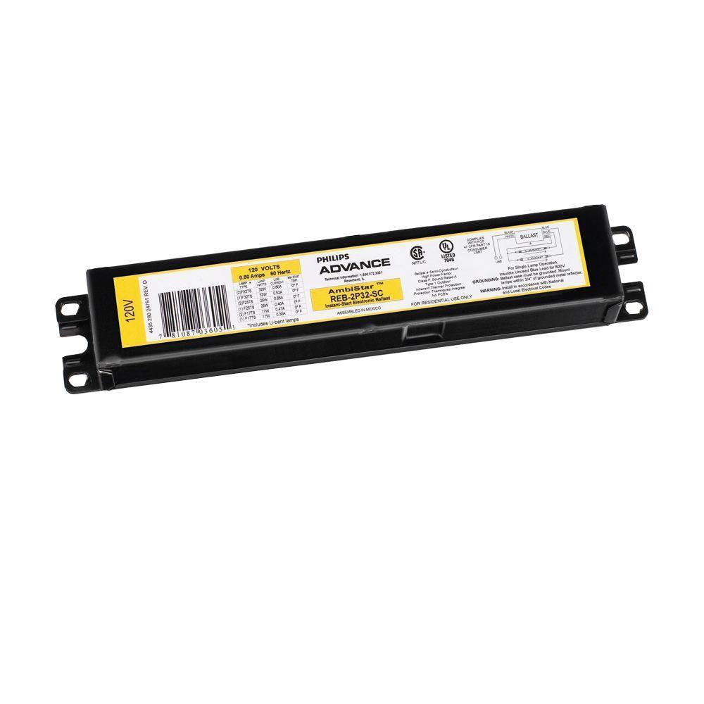 LOT of 2 Universal Lamp 200H2 Ballast 6250001742914