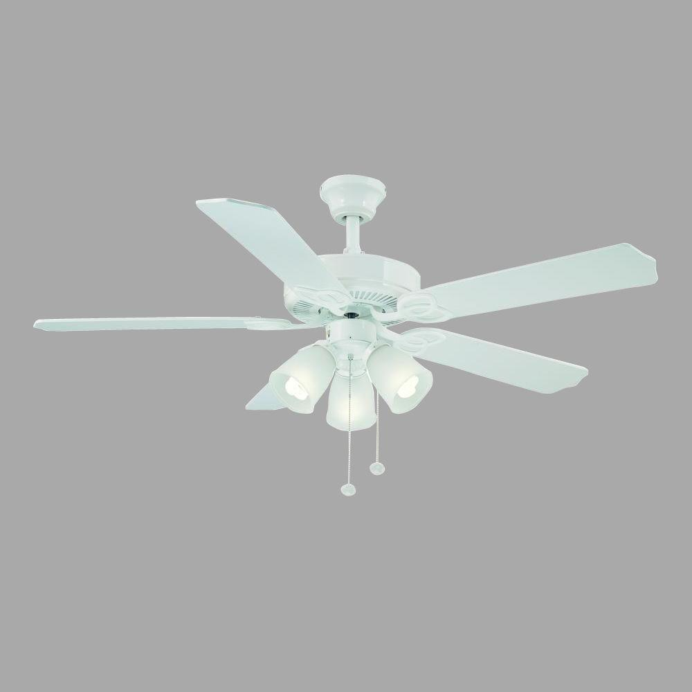 null Brookhurst 52 in. White Ceiling Fan