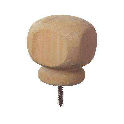 4 in. x 4 in.Contemporary Wood Post Cap Finial (6-Pack)