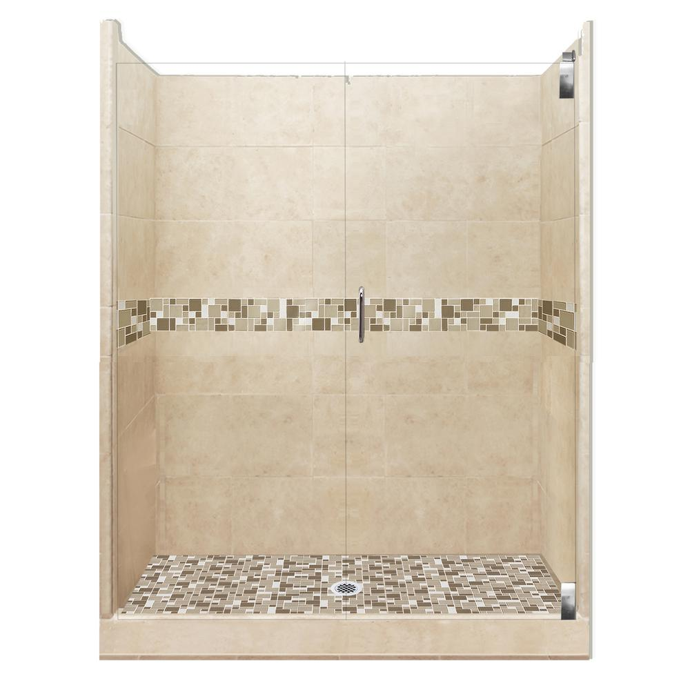 American Bath Factory Tuscany Grand Hinged 32 In X 36 In
