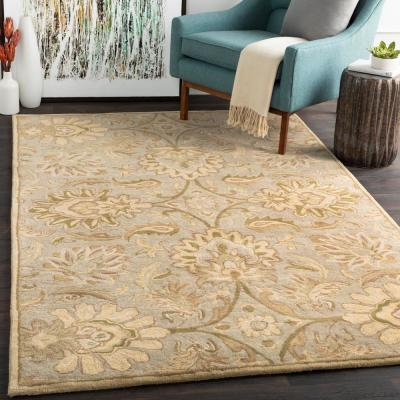 Vitrolles Gray 2 ft. x 4 ft. Hearth Indoor Area Rug