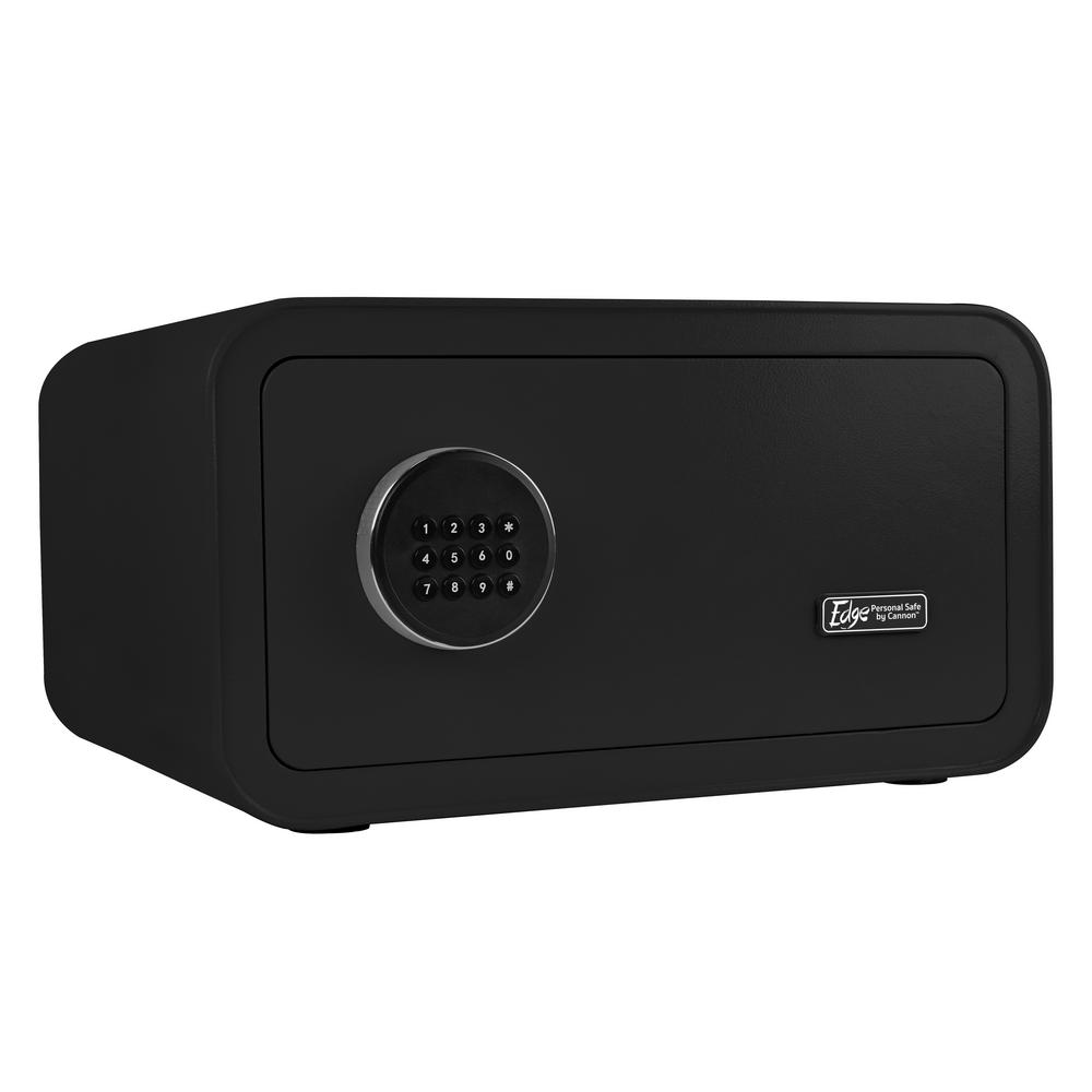 Edge Series 1.2 cu. ft. Electronic Personal Security Safe in Black