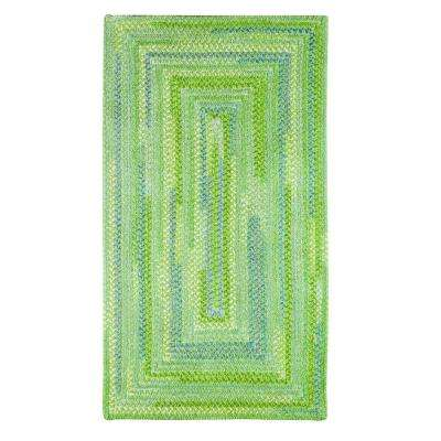 Country Grove Sea Glass 7 ft. x 9 ft. Concentric Area Rug