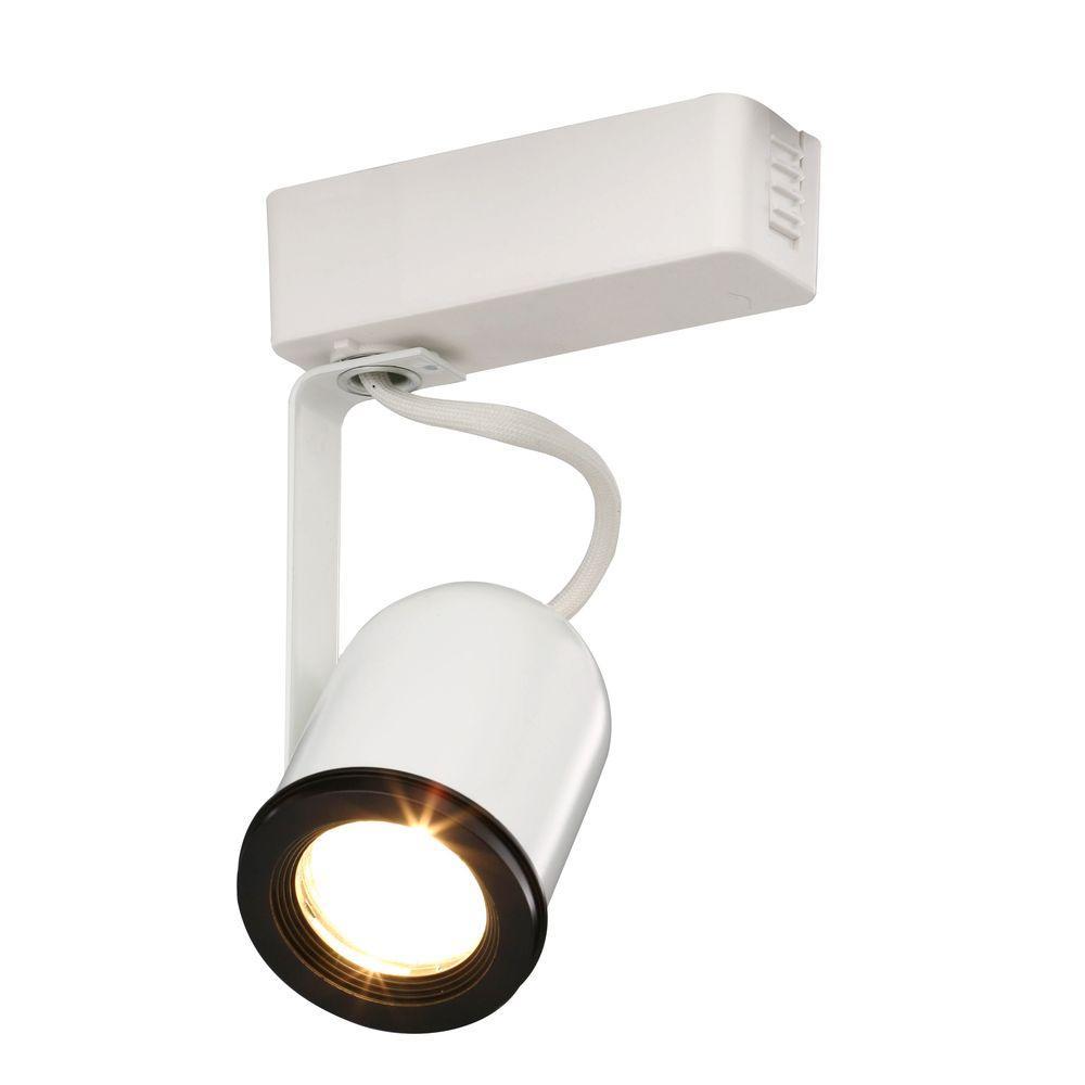 Trac-Lites Low-Voltage White Round-Back Light