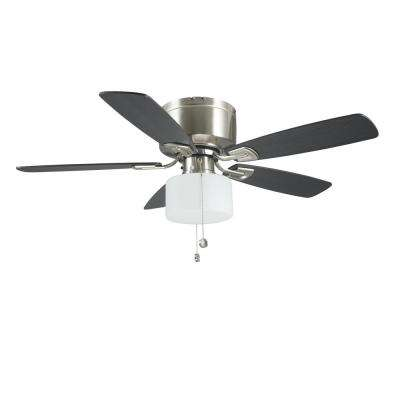Bellina 42 in. Brushed Nickel Ceiling Fan with LED Light Kit