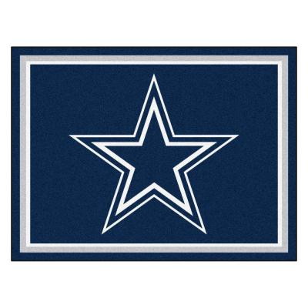 NFL - Dallas Cowboys Blue 8 ft. x 10 ft. Indoor Area Rug