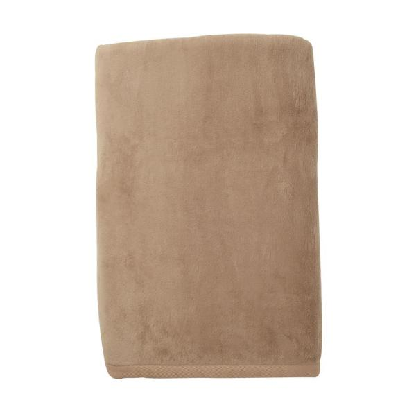 The Company Store Cotton Fleece Suede Twin Woven Blanket KO18-T-SUEDE