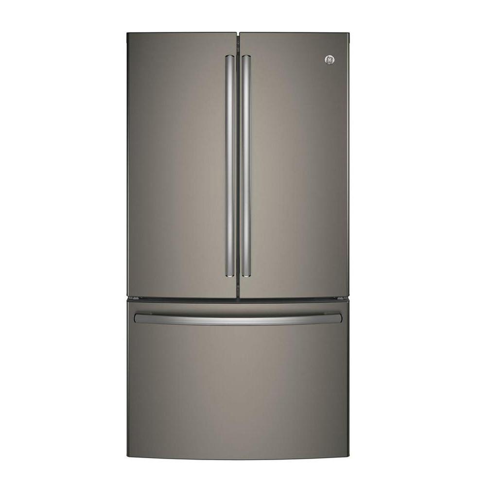 GE 28.7 cu. ft. French Door Refrigerator in Slate, Fingerprint Resistant, Fingerprint Resistant Slate