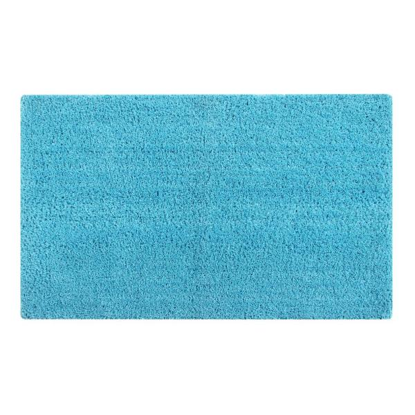 Better Trends Micro Plush Teal 17 in. x 24 in. Cotton